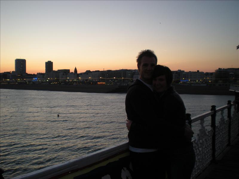 Holly & David, Brighton - 29 May