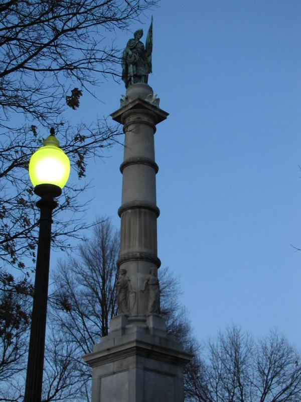 Boston Common - Soldiers and Sailors Monument