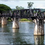 BRIDGE ON THE RIVER KWAI, KANCHANABURI, THAILAND