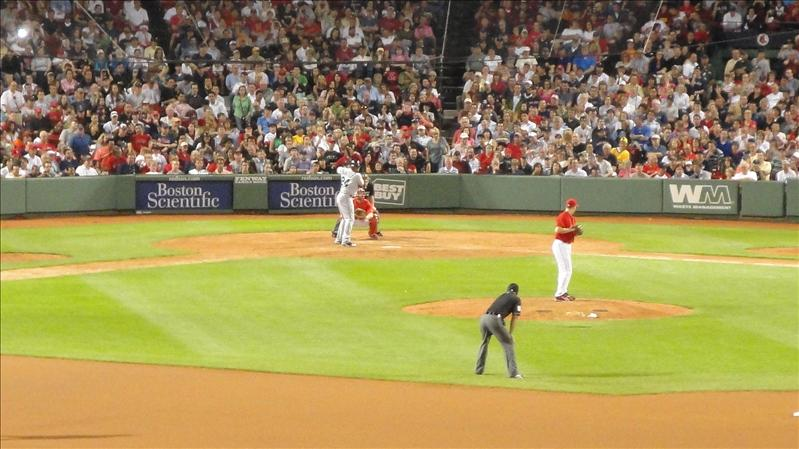 Papelbon struck out Junior swinging