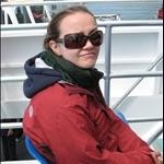 Bay of Islands boat ride.. Jenn