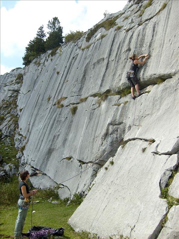 escalade•Chloé•Sophie•Pierre du Moëlle•2008