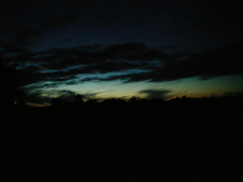 This was taken at midnight (N. Ireland)