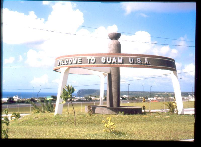 Entrada a Guam