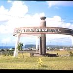 Luna de miel Guam 1980