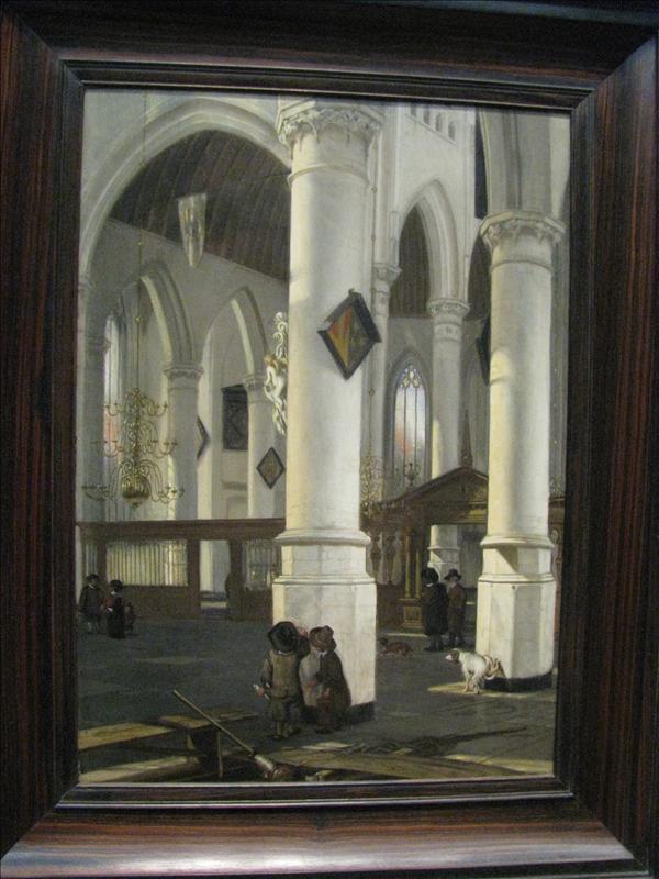 de oude kerk in Delft