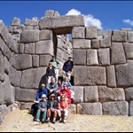 SAQSAYWAMAN, CUZCO - GROUP PHOTO