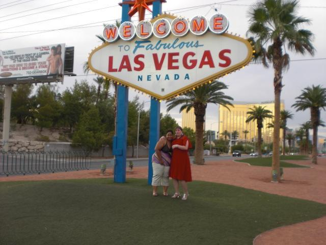 The requisite tourist pic in front of 'The Sign'