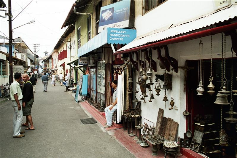 the quarter of Old Cochin known as Jew Town.