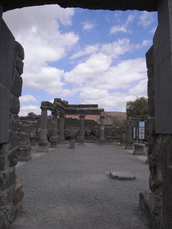 Ruins of the old Roman town.
