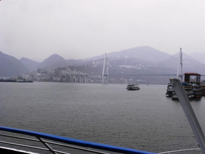 stoping in this city for tour to the Lesser Three Gorges