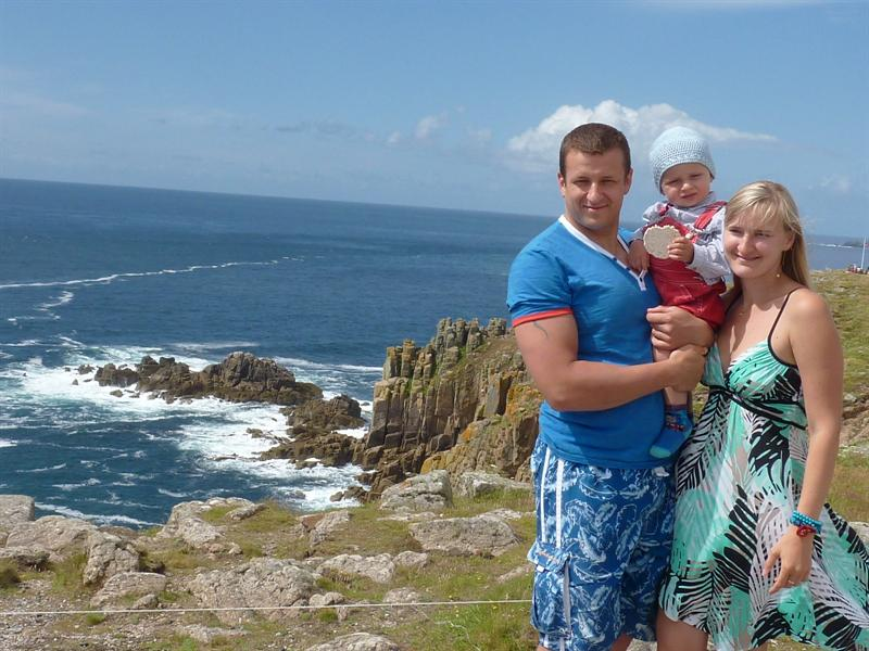 FAMILY IN THE LAND'S END