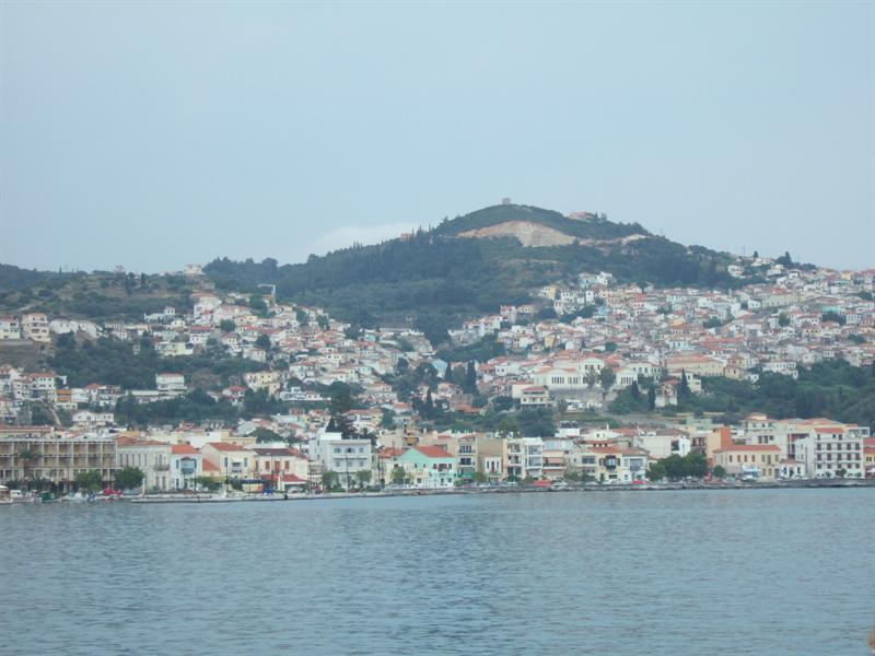 Leaving Samos