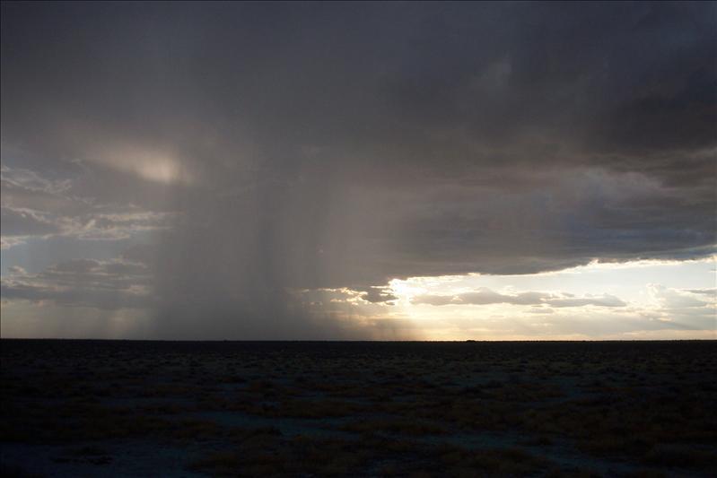 the rain is coming / la pluie arrive