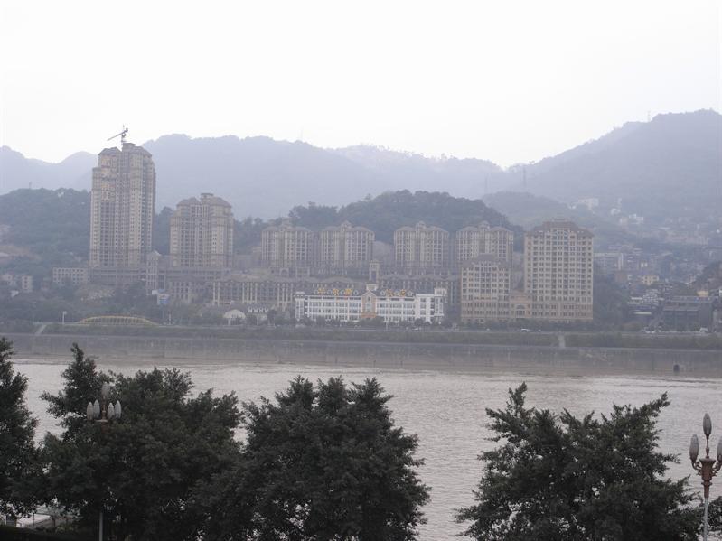 view from Yangtze River International Youth Hostel