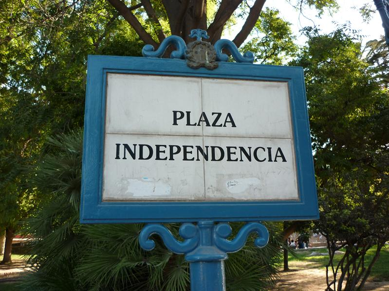 Plaza Independencia - pretty obvious really...