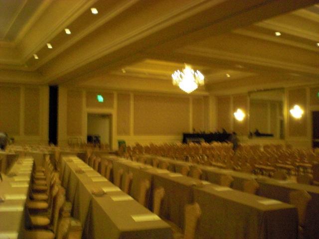 Huge ballroom @ Ritz
