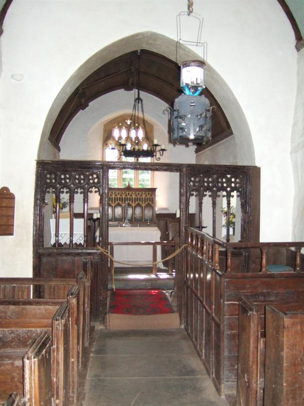 Walk from Porlock Weir to Culbone - Culbone Church