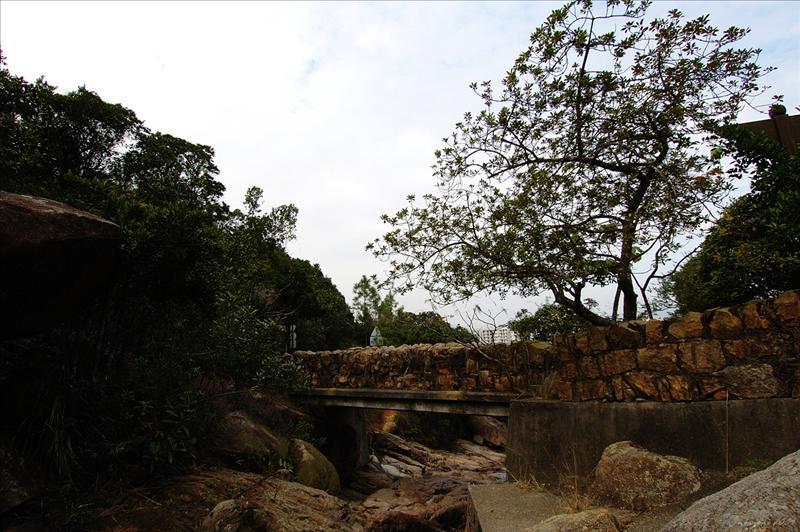 英式石橋橋下的小馬坑