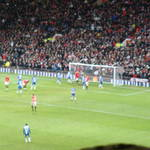 Man U vs Balckpool, Old Trafford, Manchester, UK
