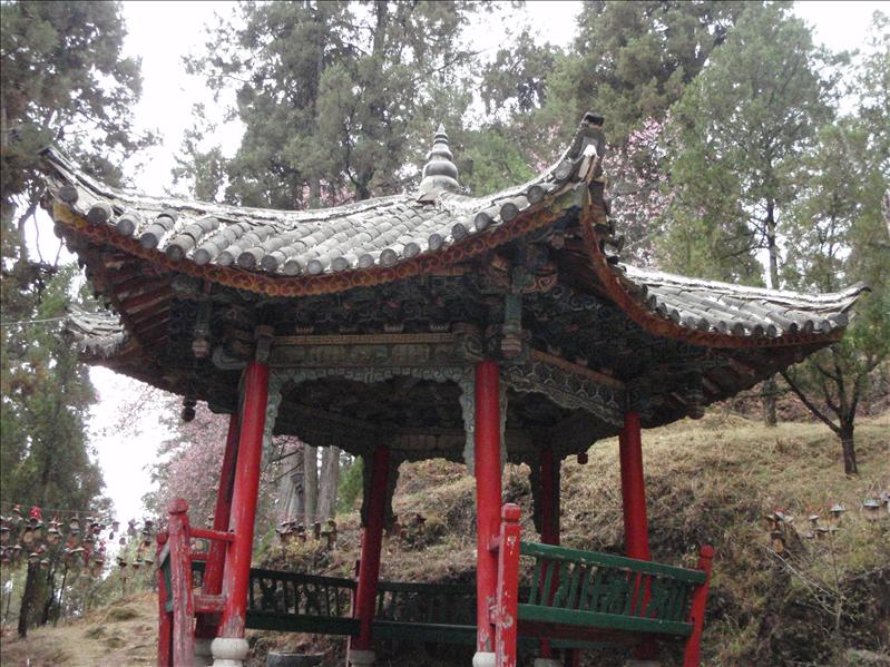 Lijiang Old Town, up a little hill that I forget the name of.