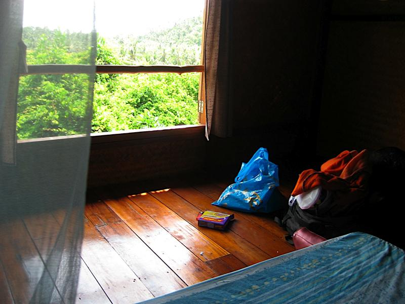My dorm room at the Sanctuary in Haad Thien, Koh Phangan.