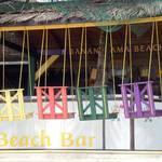 Beach Swings, Roatan, Bay Islands, Honduras