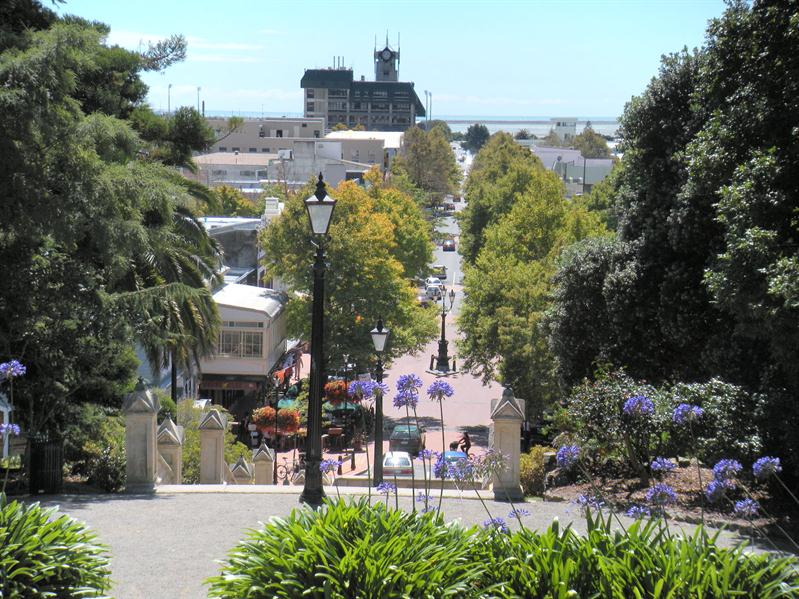 View from the cathedral in Nelson