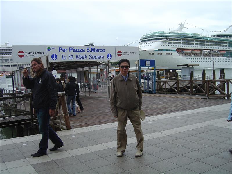 Ferry ride to Venice