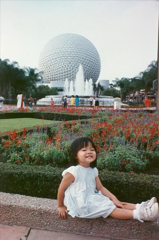 Our first trip to Florida, Cyn was 3 and Stef wasn't able to join us yet, she was 2 years from her 'birthdate'. 1990