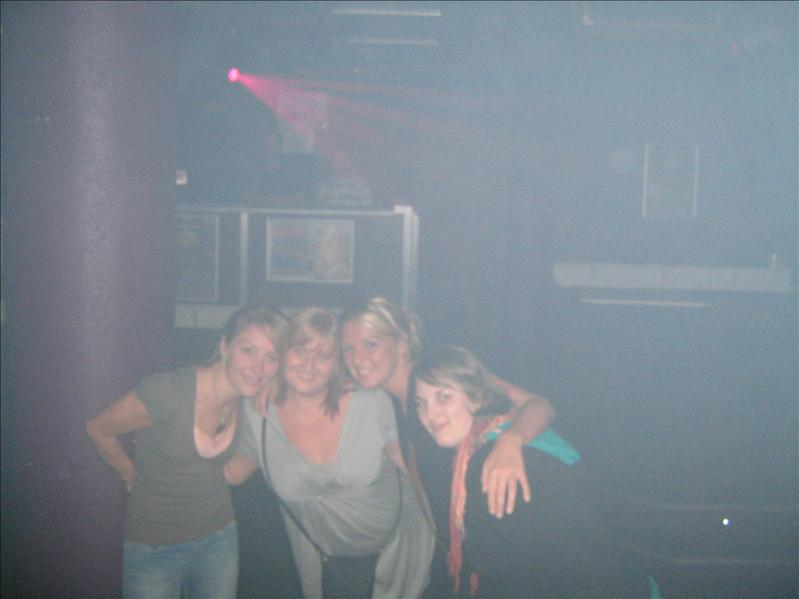 Me, Diandra, Kelly and Kathrine in Mars Bar