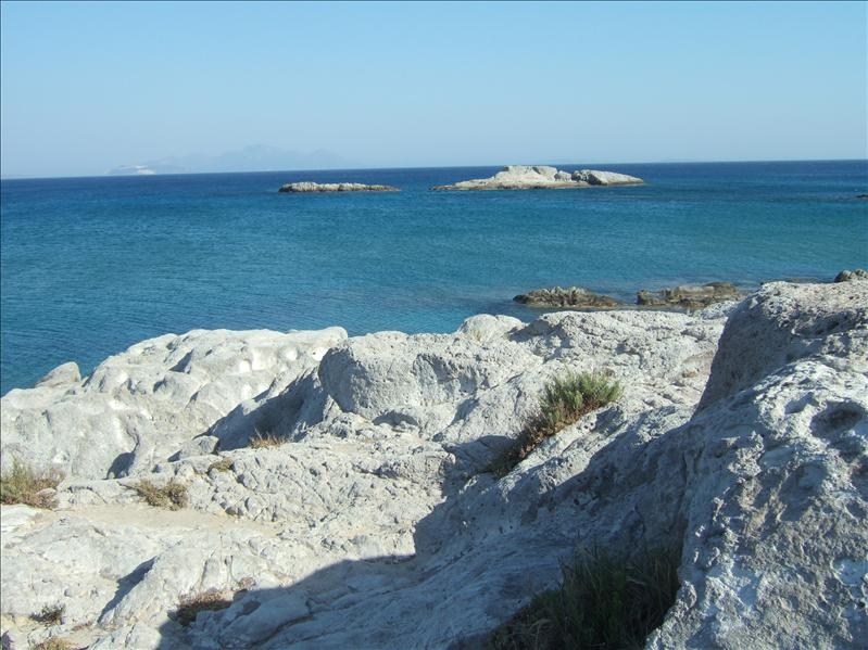 Rocks by the Ruins on the Beach at Kefalos Bay