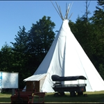 Apparantly the largest Teepee in the world!