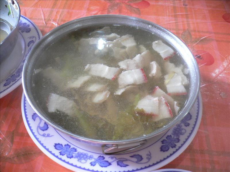 卜菜肉片湯