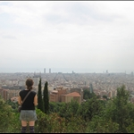 All of Barcelona from Parc Guell