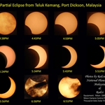 Observation camp on Partial Solar Eclipse