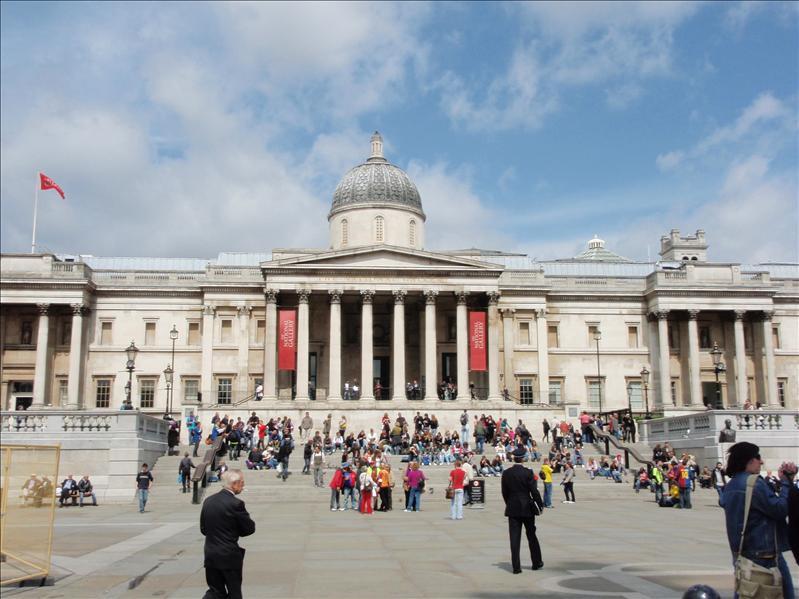National Gallery, Trafalgar Square - 20th May