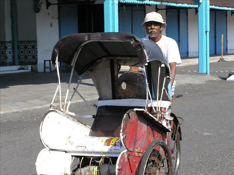 Becak--Rickshaw