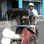 Becak--Rickshaw