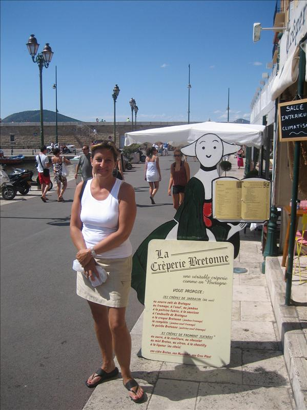 Becasine and I in St. Tropez, France