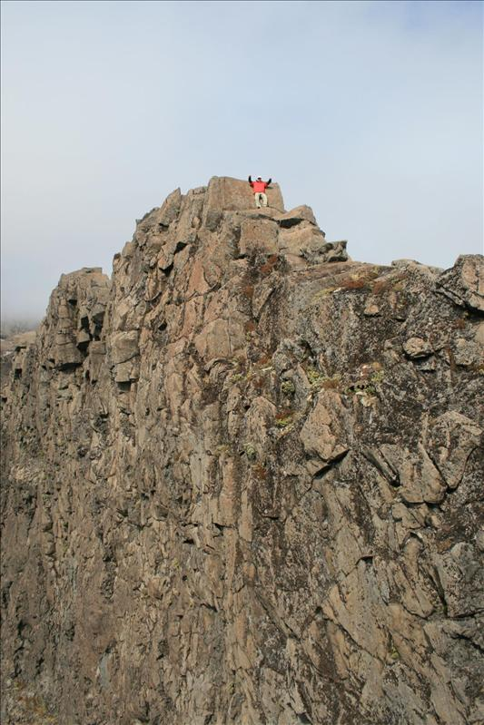 Climbing Meads Wall at Mordor!
