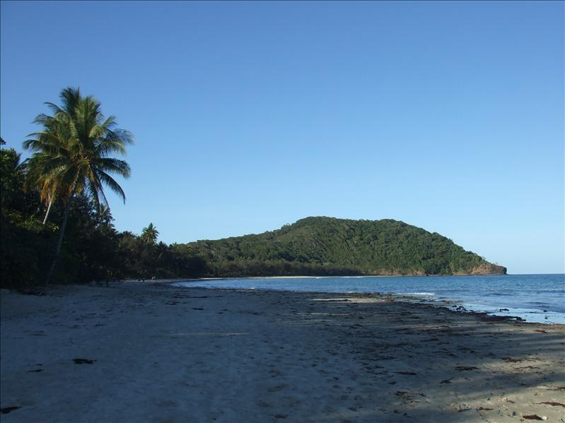 The actual cape, Cape Tribulation