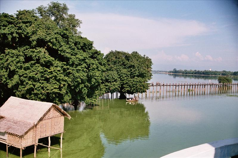u bein bridge,amarapura