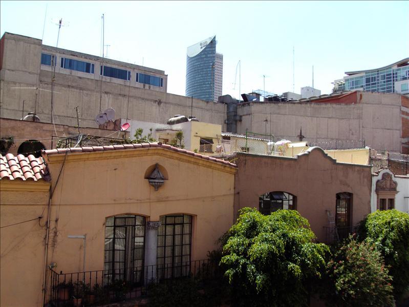 Ciudad de Mexico, vom Balkon meines Onkels