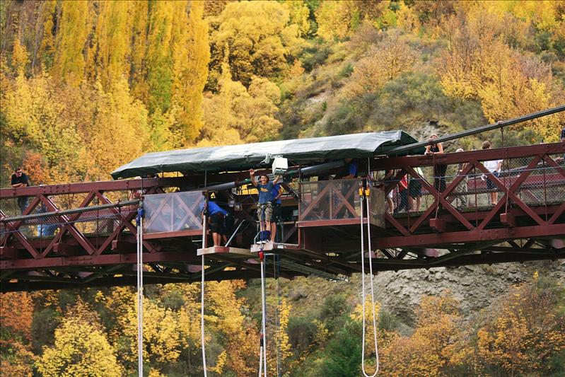 Phils bungy jump. Kawarau Bridge, Queenstown.