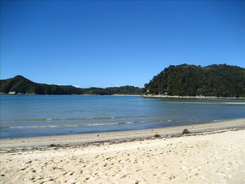 Beach at Abel Tasman