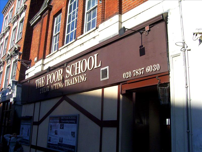 The Poor School 2 Year Acting Training