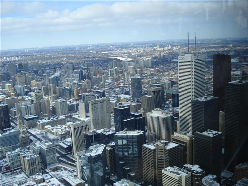 Toronto seen from CN Tower.8