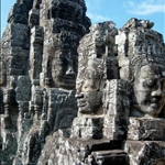 MORE ENIGMATIC FACES AT THE BAYON