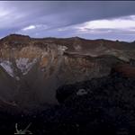 The crater of Fuji-san
